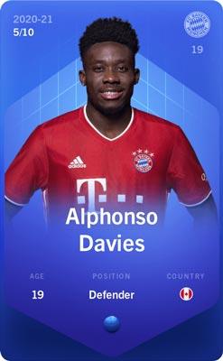 Ficha de Alphonso Davier