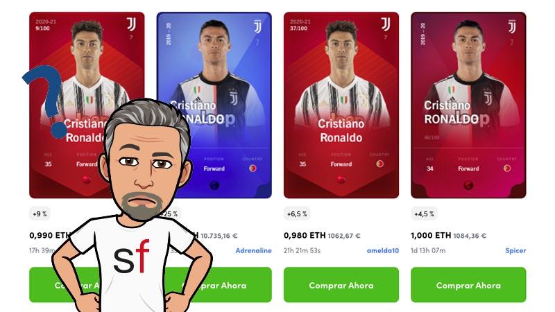 Cromos de Cristiano Ronaldo