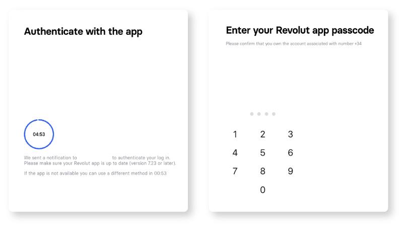 Verificación de identidad con la tarjeta Revolut